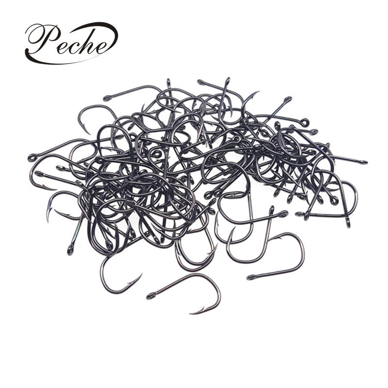 Peche High Carbon Steel Fishhooks Barbed Hook Fishing Hooks