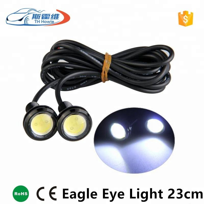 Car Led DRL Eagle Eye Daytime Running Light Source Waterproof 23mm DC 12V Auto Reverse Parking Signal Lamp White Blue Green