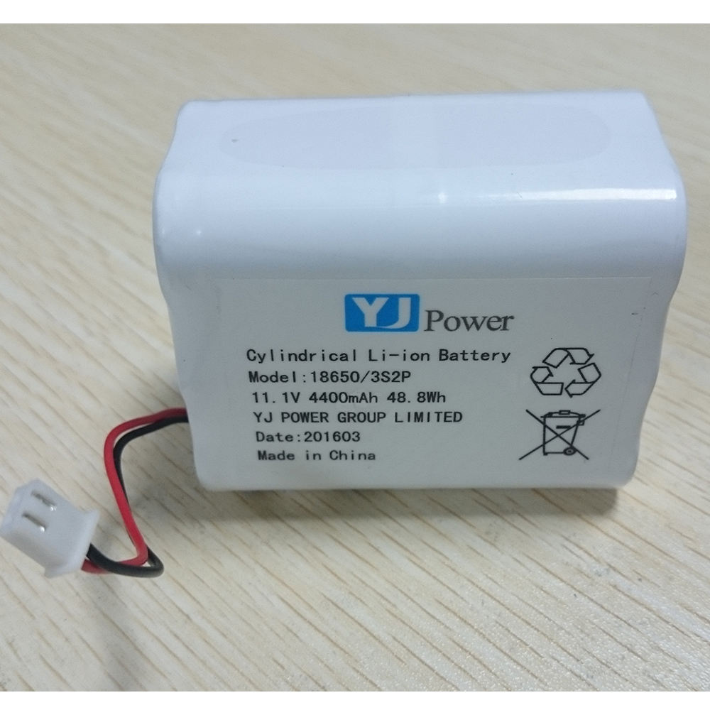 18650 3s2p 11.1 v 4400 mah li-ion battery pack 11.1 v 4400 mah