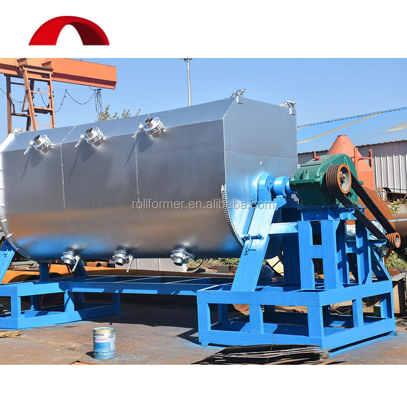 Stone paint ribbon lacquer mixer mixing machine equipment