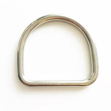 Diving accessories Stainless steel BCD D ring for 2inch weight belt harness for technical diver