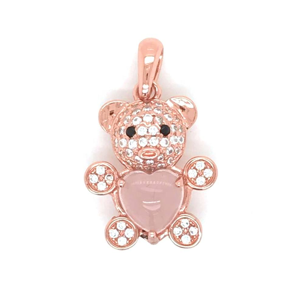 Engagement 2019 The Most Fashionable And Personalized Design Bear Silver Pendant