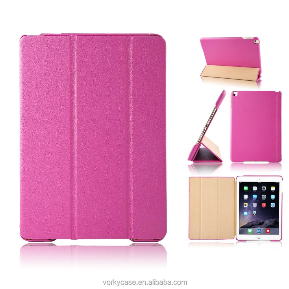 OEM/ODM 360 full protect leather cover casa for iPad 9.7