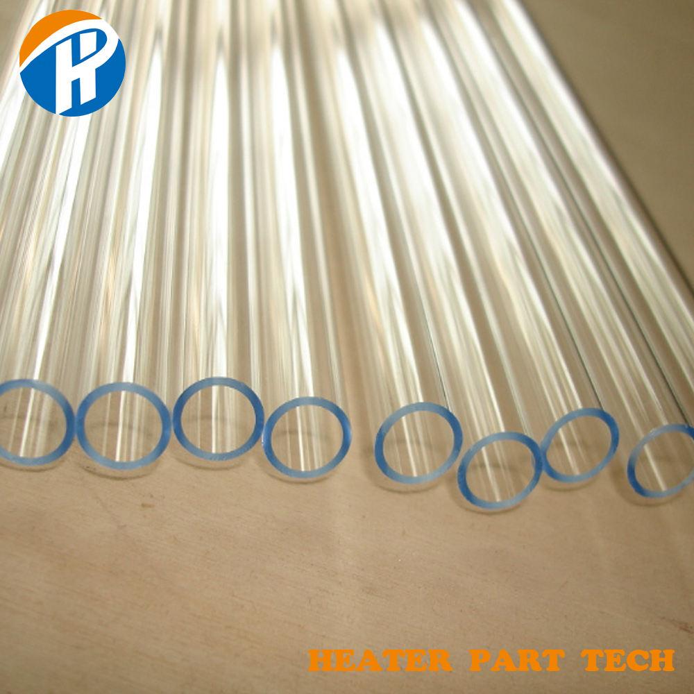 High strength large Transparent quartz glass tube borosilicate glass tube