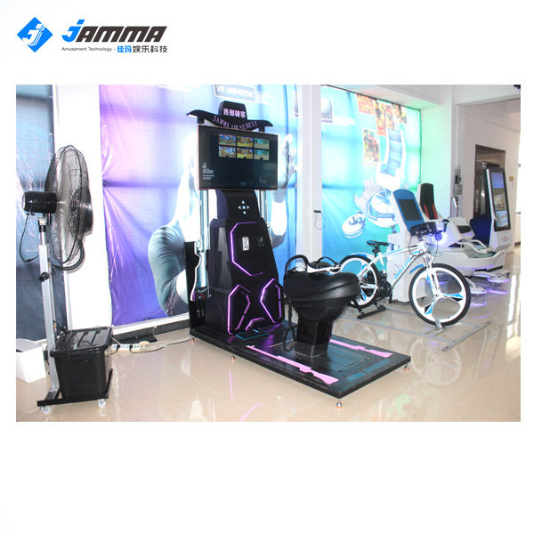 Simulation riding 9dvr jumping horse chairs simulator game