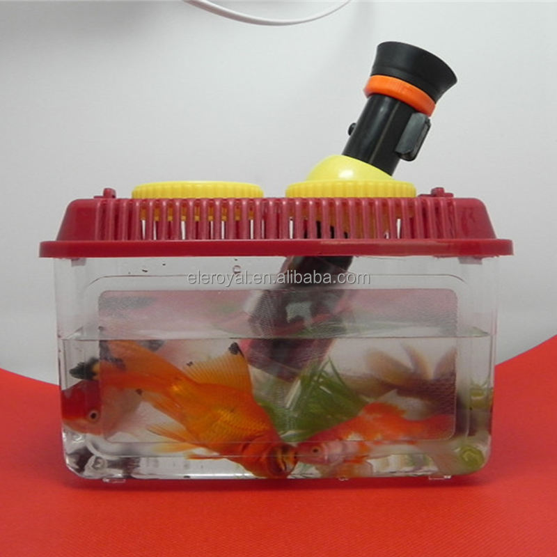 Goldfish Viewer Magnifier, Kids Educational Toy, Bug Insect Viewer Magnifying Glass Jar Bug Catcher