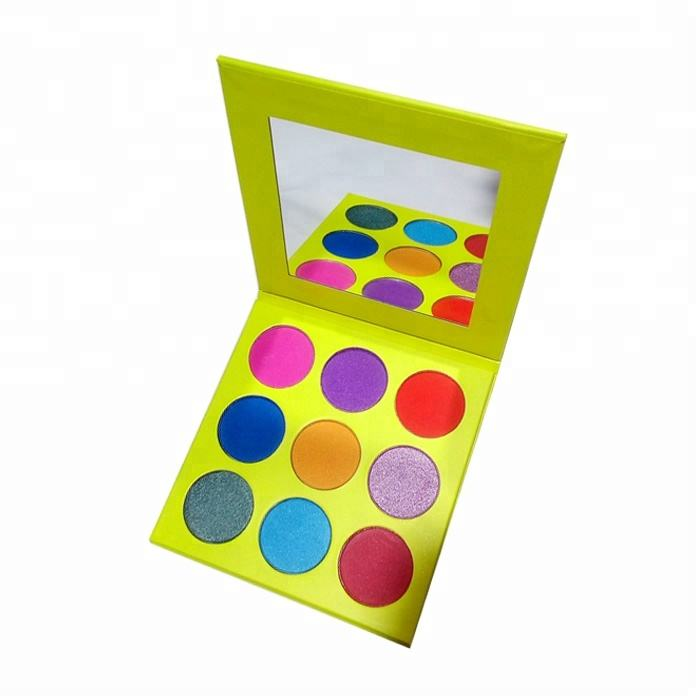 Choose color freely private label matte eyeshadow palette imported makeup wholesale