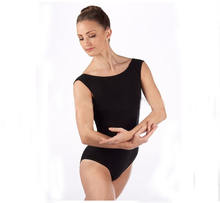 sexy ballet leotard women black dance leotards