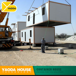 Prefabricated House Container 40Ft Modular Home Prefab Flat Pack Container housing