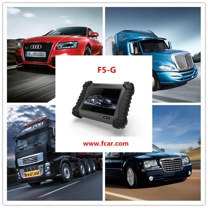 Pequeno leitor de código de carro a gasolina, Toyota car diagnóstico scanner, FCAR F5G FERRAMENTA de VERIFICAÇÃO