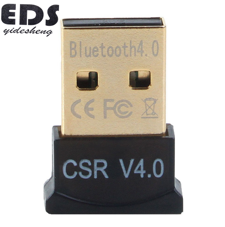 2019 2,4G USB Bluetooth Adapter V 4,0 Dual Mode Wireless-Dongle Großhandel CSR 4,0 USB 2.0/3,0 Für Win7 vista XP