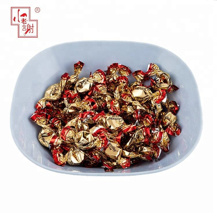 Wholesale Delicious Bulk Chocolate Fruit Hard Sweet Halal Toffee Candy