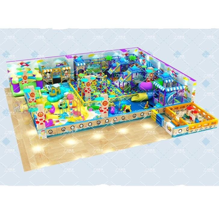 Snowplay Customized happy ocean theme kids indoor playground for kids