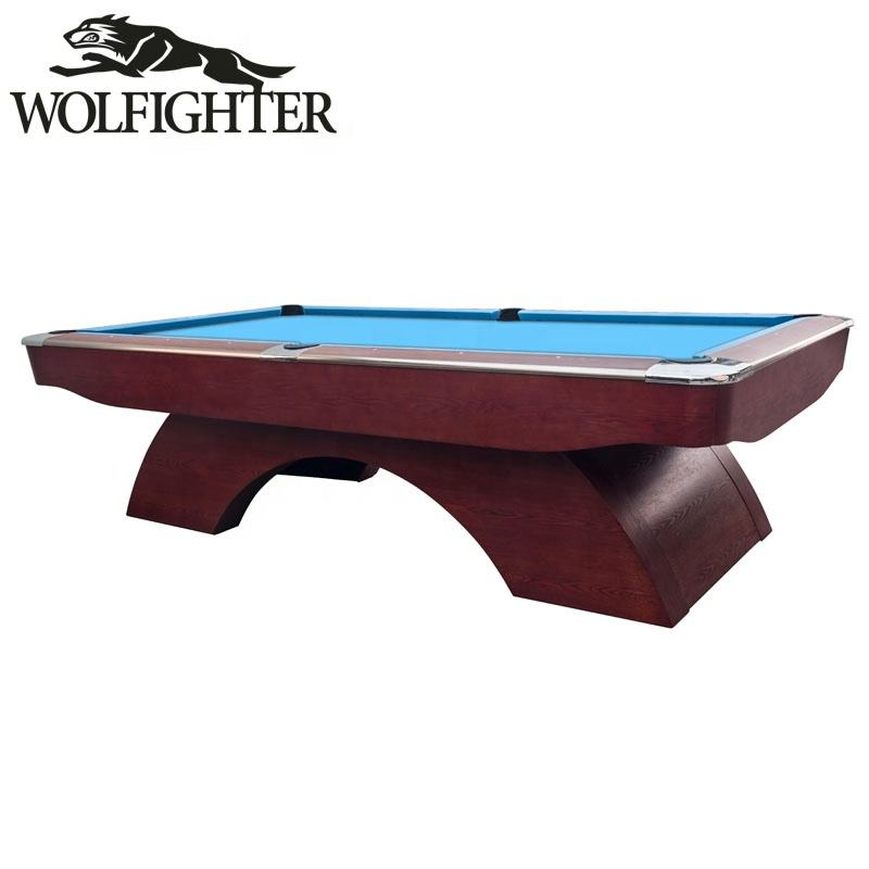 WOLFIGHTER haute qualité arc-en-ciel 8ft/9ft français billard table de billard