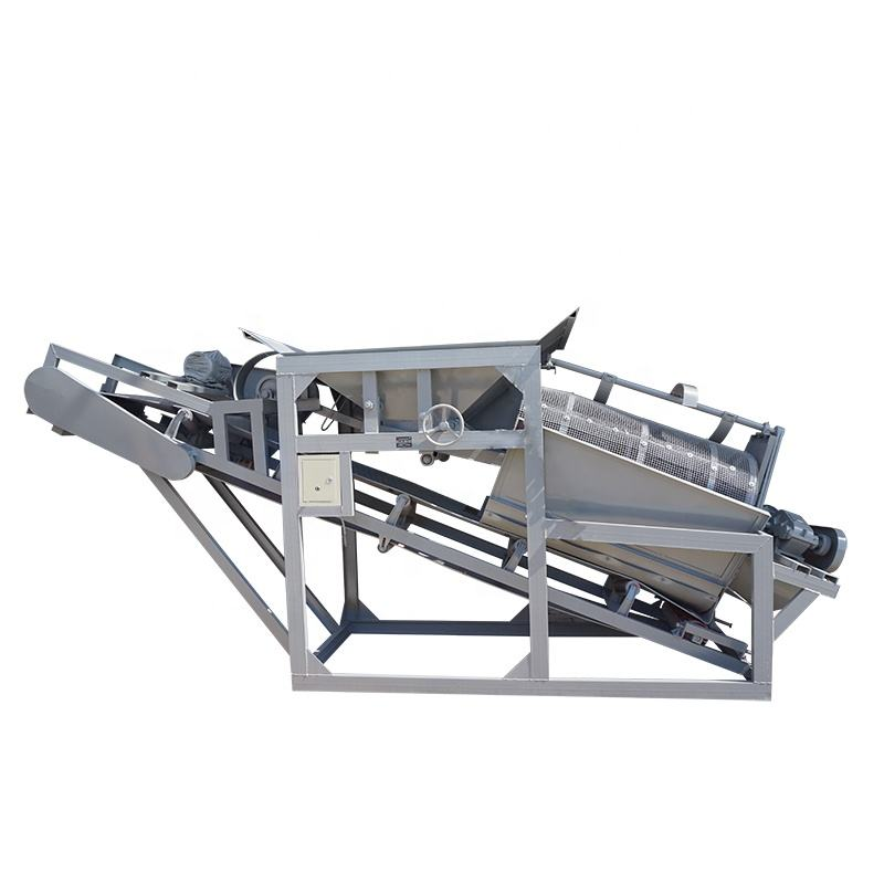 high screening efficiency effective wear protection sand gravel separator