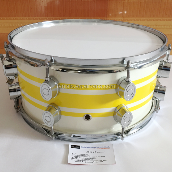 Lacquer ไม้ marching Snare Drum