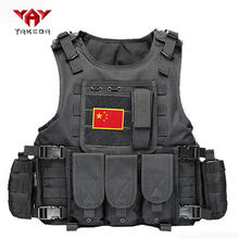 YAKEDA cheap army police supplies outdoor Military Molle Bullet proof Army police tactical vest gilet tactique