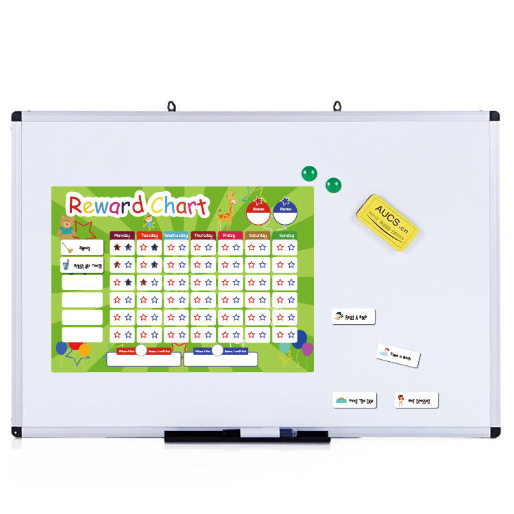 New ideas Rewards Chore Chart for Kids,Come with 12 Magnetic Chores