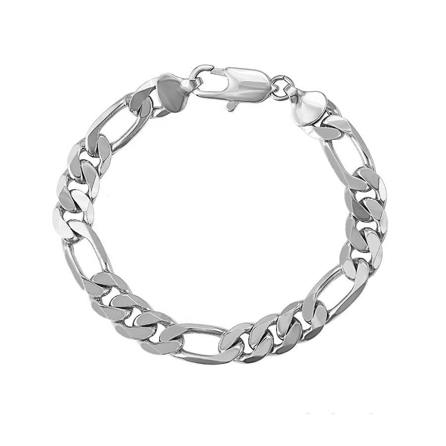 DIDA Punk Bracelet Cool Womens Bracelet Big Gold Chain Bracelet Cuban Retro Design for Girls