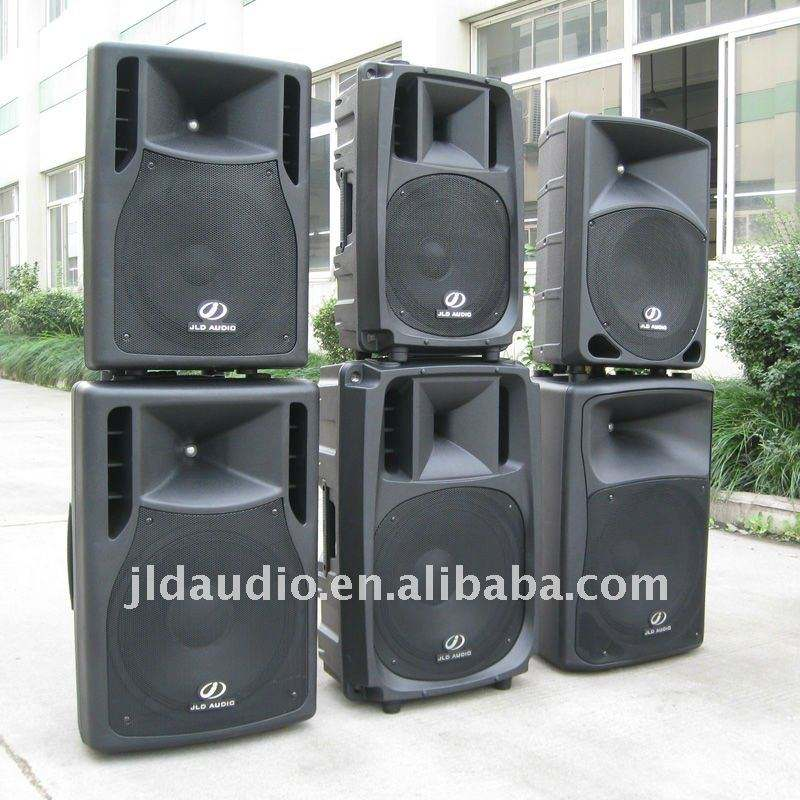 Injection Plastic 2 Ways Active/Passive PA Speaker