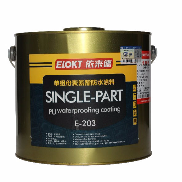Single Part water based Polyurethane Waterproofing coating
