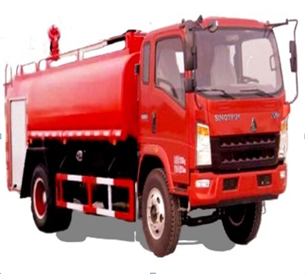 Brand New Fire Fighting Truck with water tank LHD ZZ5168E3914C1 from manufacturer