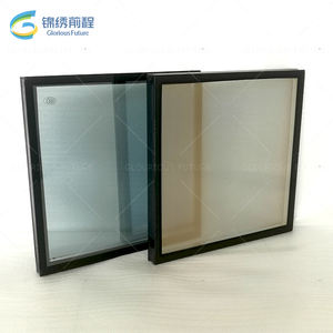 China Qingdao glass factory heat reflective solar control glass