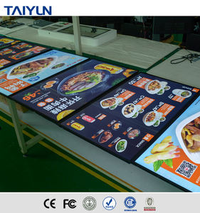 43 inch full hd wall mounted fast food lcd digital menu board for restaurant