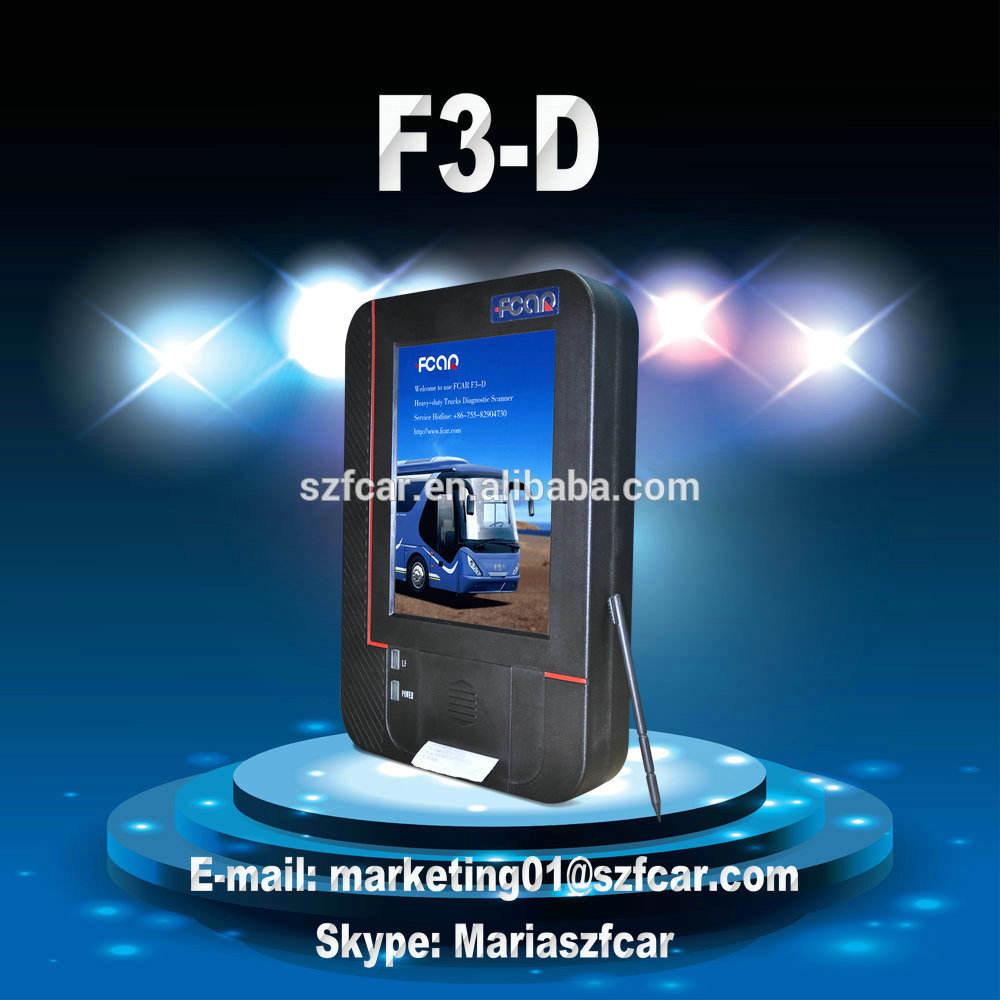 F3-d diesel truck diagnóstico scanners para Heavy duty truck diagnose, UD internacional VOLVO RENAULT