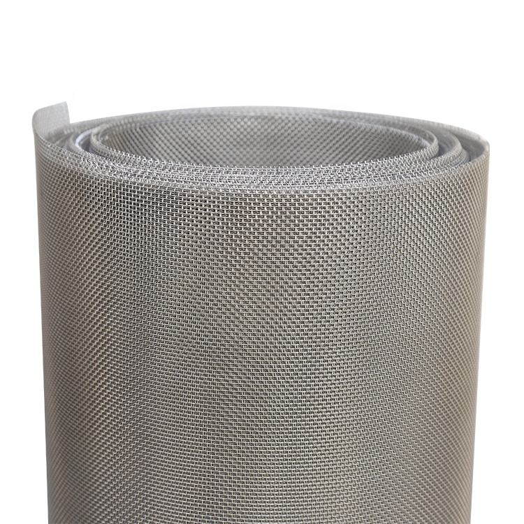 304 stainless steel wire mesh conveyor belt mesh band / flat wire mesh belt