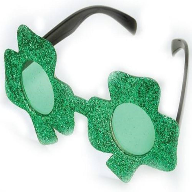 Green Irish Clover Glasses Sunglasses St Patricks Day Irish Fancy Dress Shamrock SP006