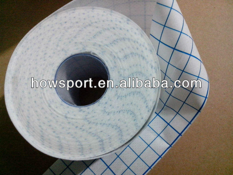 (T)latex free nonwoven adhesive dressing roll fixation tape Hypo Allergenic Dressing underwrap