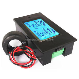 Digitale Ac Voltage Meter 100A/80 ~ 260V Power Energy Analoge Voltmeter Ammeter Watt Huidige Amps Volt Meter lcd Panel Monitor
