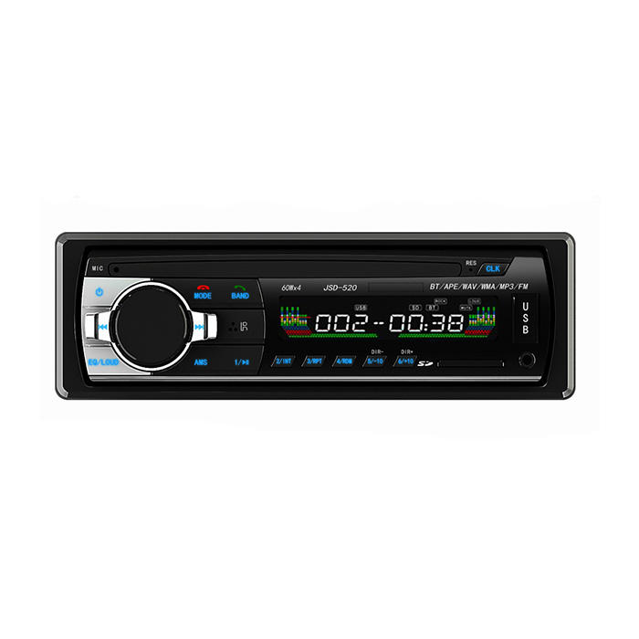 Hot sale high power car audio radio mp3 player with bluetooth