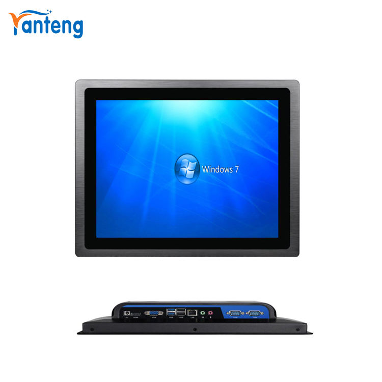 알루미늄 합금 casing 17 inch windows7 touch panel pc, ip65 산업 touch pc