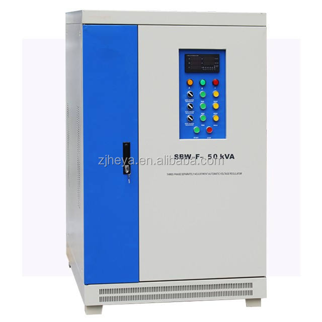 SBW China factory SBW 50KW compensated voltage regulator