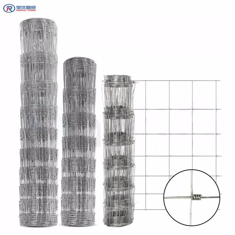 High Tensile Galvanized Sheep/ Cattle/ Horse/Wire mesh field Fencing
