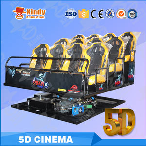 2017 Alibaba Zhuoyuan dinamis virtual 5d bioskop 9d cinema pocket cinema projector truk mobile