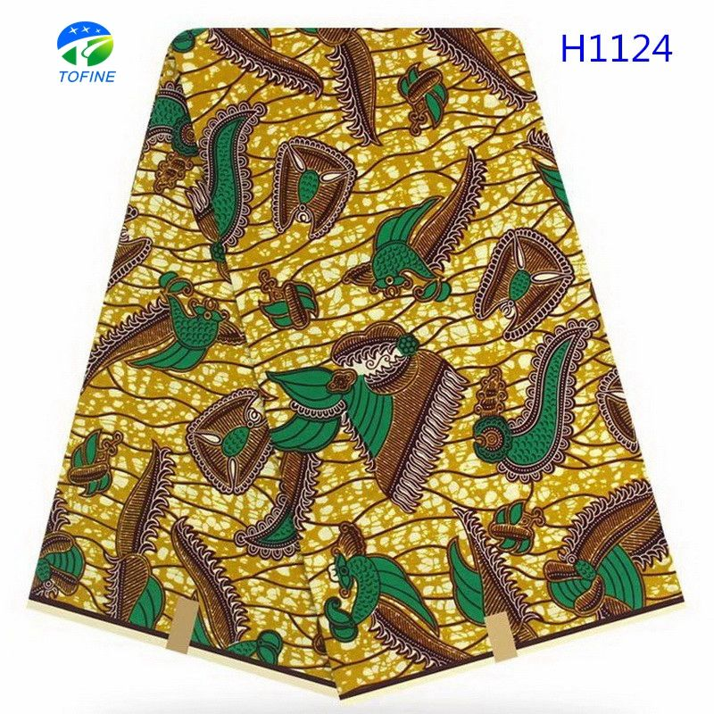 Latest arrival popular 100 % cotton wax holland african wax print for making party