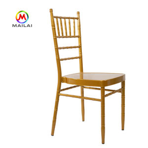 10 Years experience manufacturer wholesale popular tiffany wedding stacking chiavari chair for sale