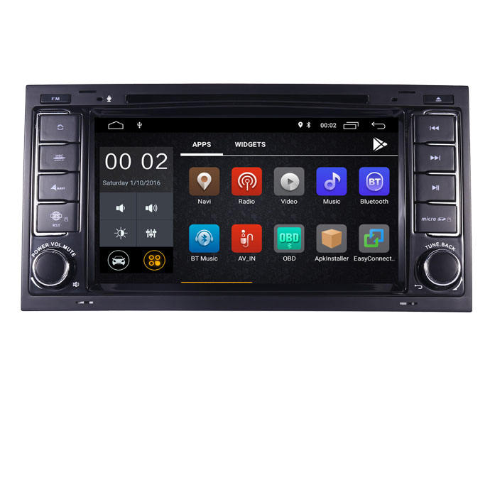 Android 10 Auto Dvd-speler Voor Vw Touareg T5 Multivan Radio Wifi 3G Bluetooth Sd Obd Spiegel Link Kan bus Stuurwiel Controle
