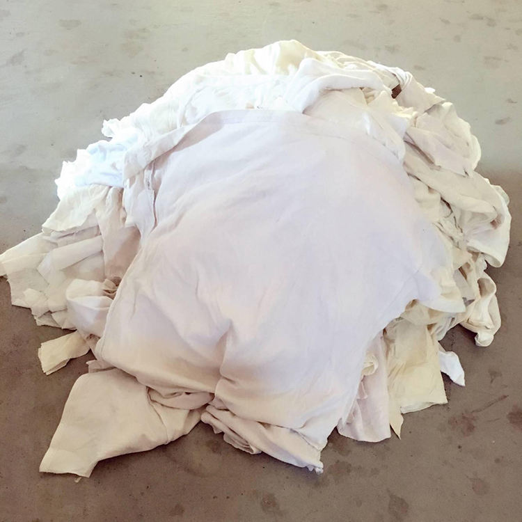 Excellent Quality Industrial Cotton Wiping Rags White Color