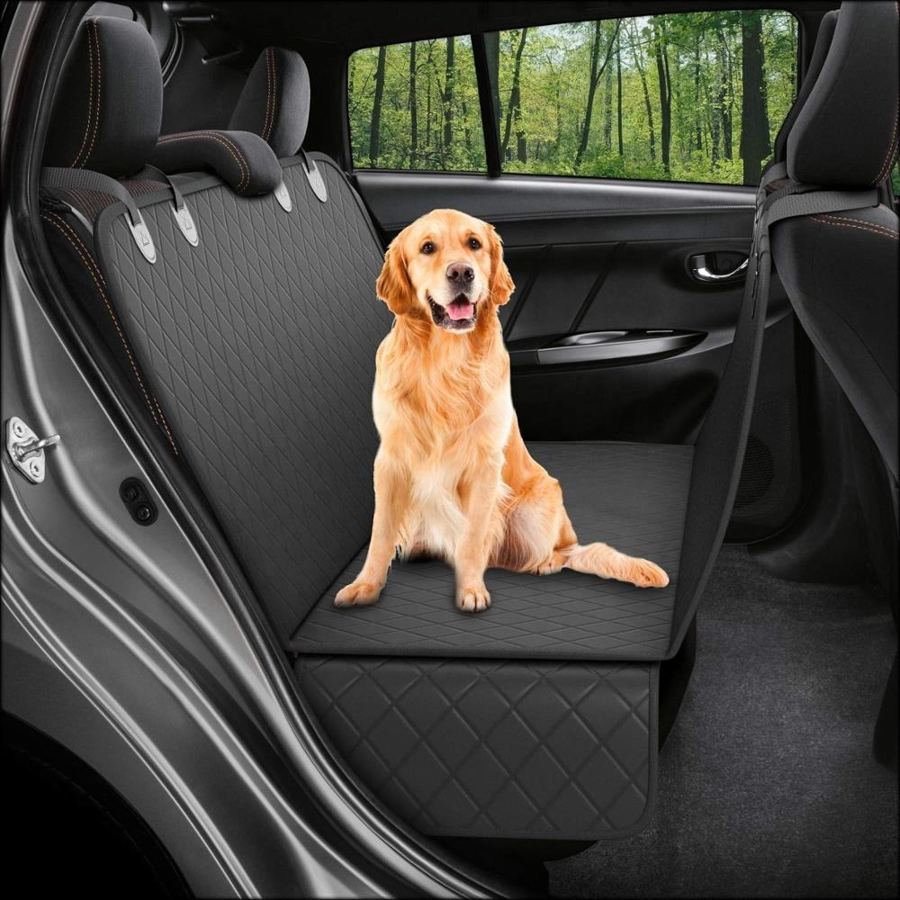 Manufacturer wholesale luxury chewproof waterproof soft Quilted dog car seat cover