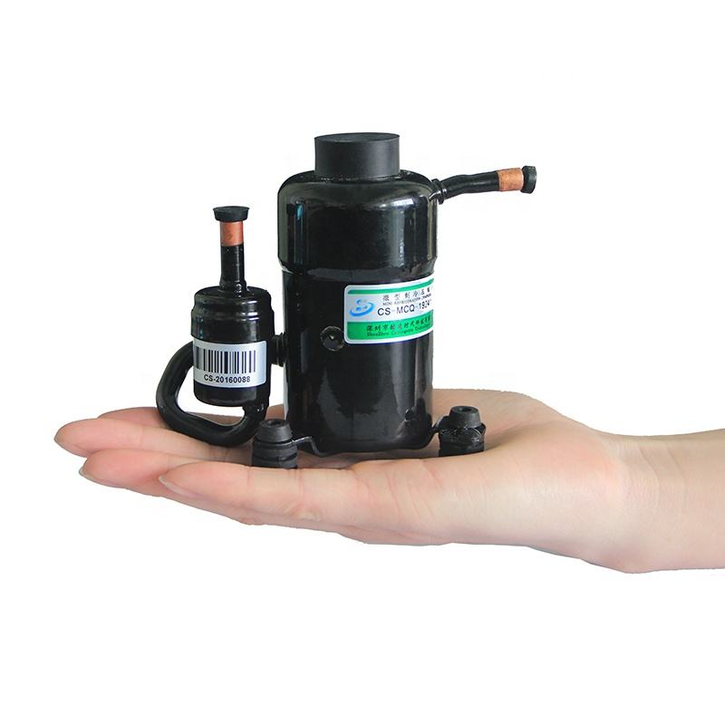 Factory Price of DC 24V Palm Size Mini Refrigerated Compressor