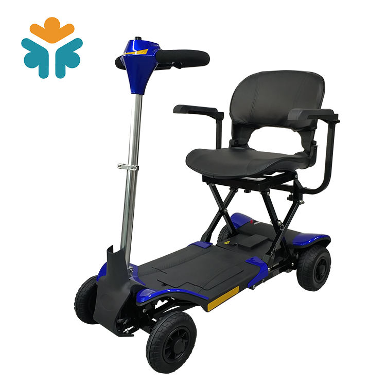 New design 4 wheel foldable electric mobility scooter for elders