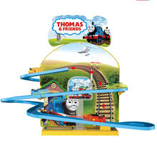 Big size battery operated railway set  Thomas magnetic  B/O magic track car toy wholesale