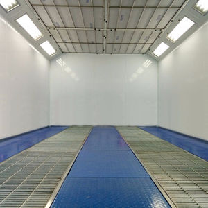 CE Approved Diesel Heating Auto Body Shop Spray Booth