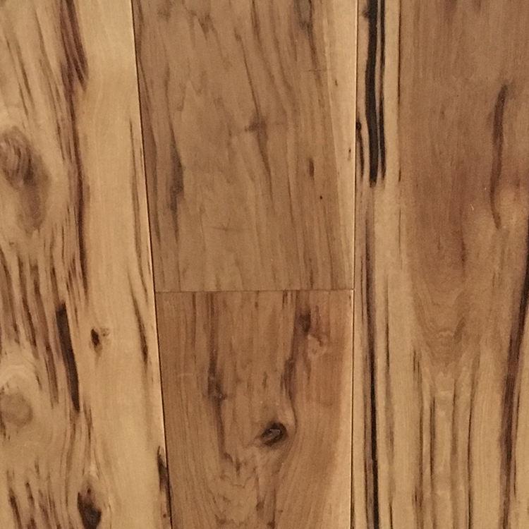 Beliebteste CE Russische Eiche Gebürstet Ingenieur Solide Echt Holzboden