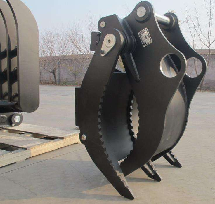 High Quality Hydraulic Grapple for 20t Excavator Heavy Duty Log Grapple for Sale