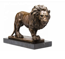 High-Quality and best prices Life Size Bronze Large Lion Sculpture for indoor